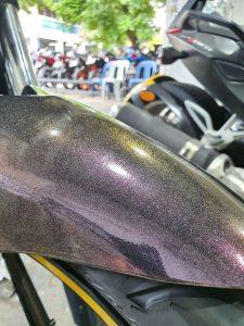 Yamaha FZ-16 Metallic Purple Full Wrap
