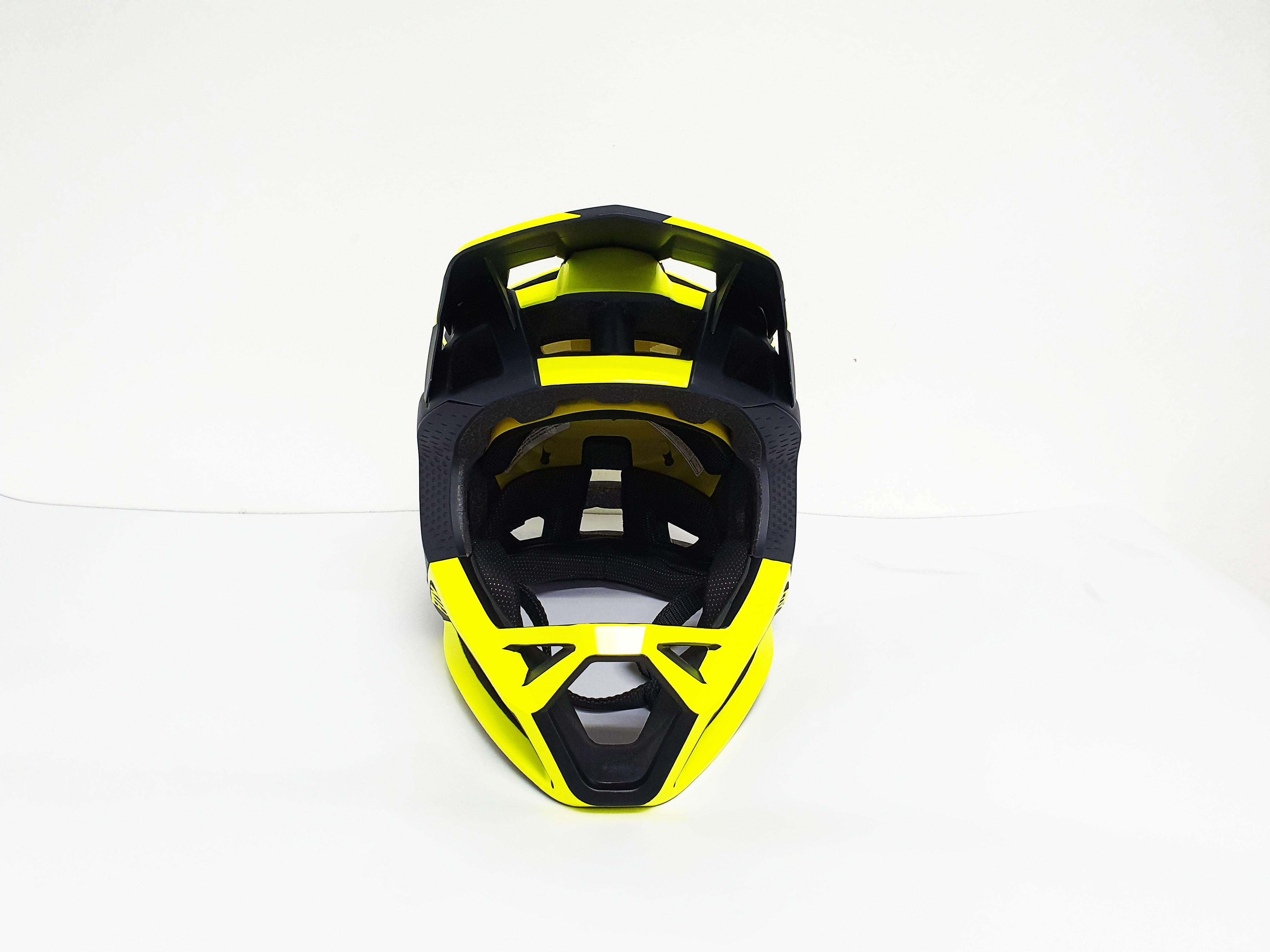 Suzuki B-King for Fox Helmet in Bright Yellow and Black
