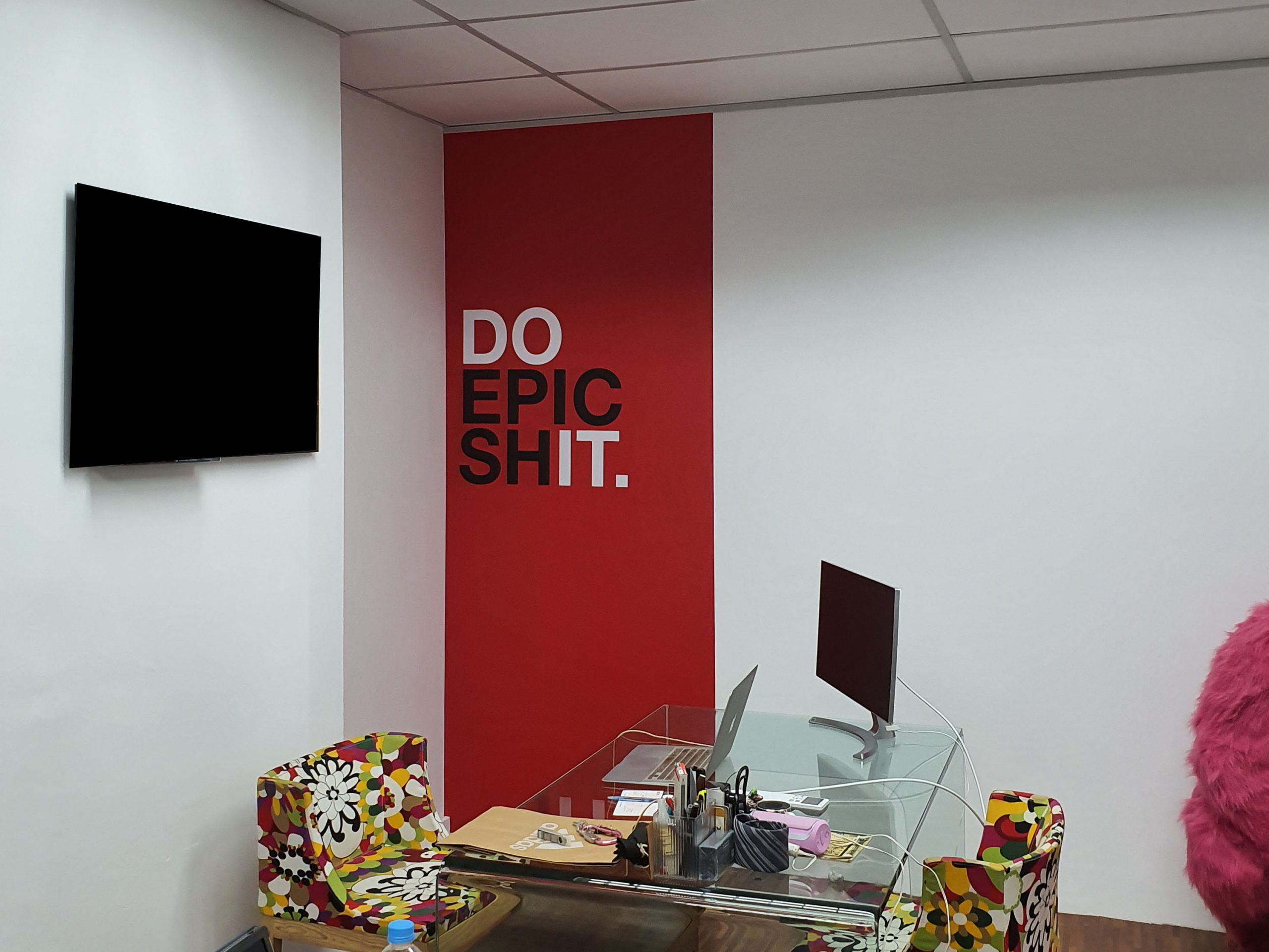 Office Wall Decal for Smart Event Hub DO EPIC shIT