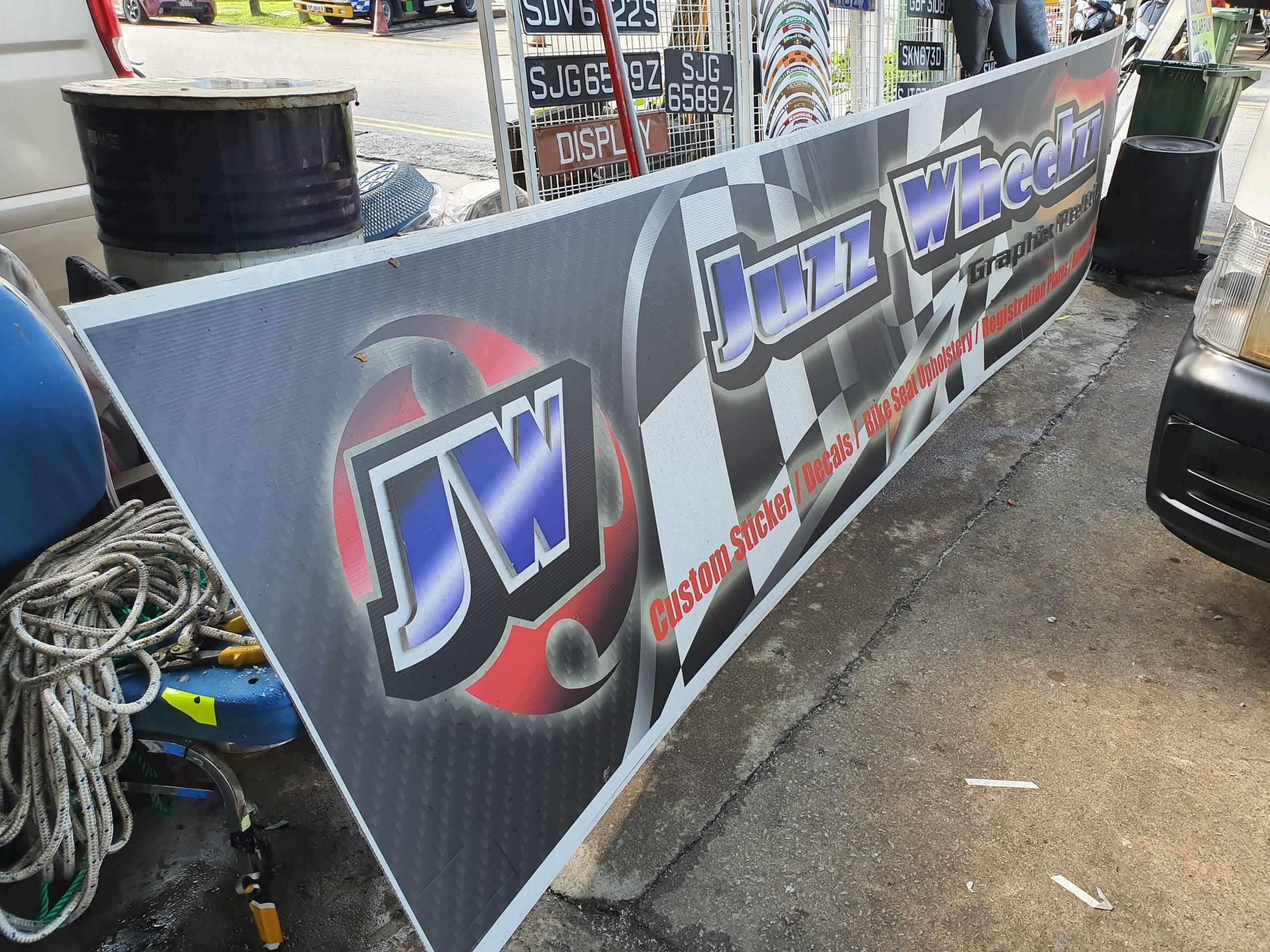 WG Revamped Logo Signboard