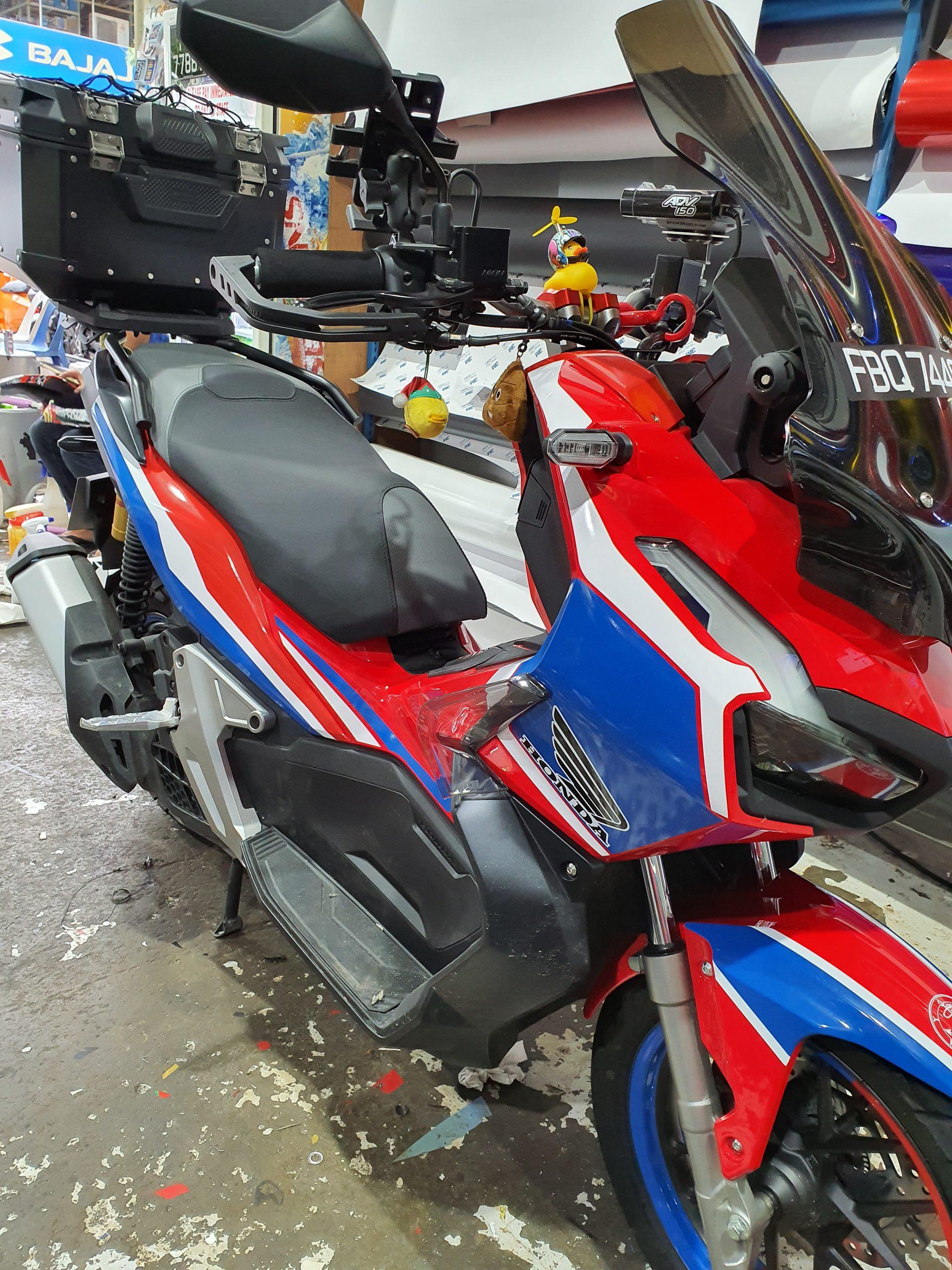 Honda ADV 150 Side Profile