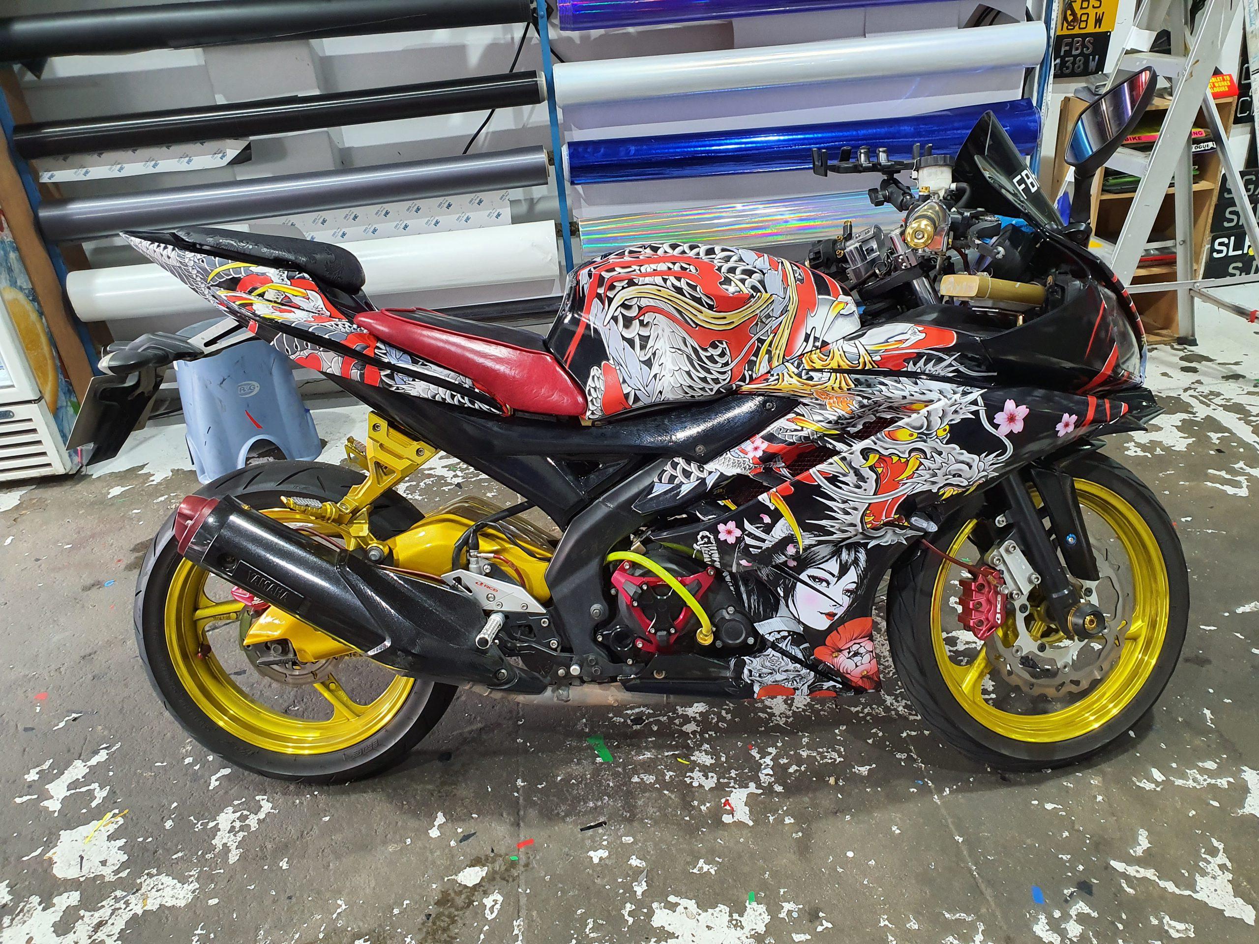 Yamaha R15 v2 Full Wrap Oriental