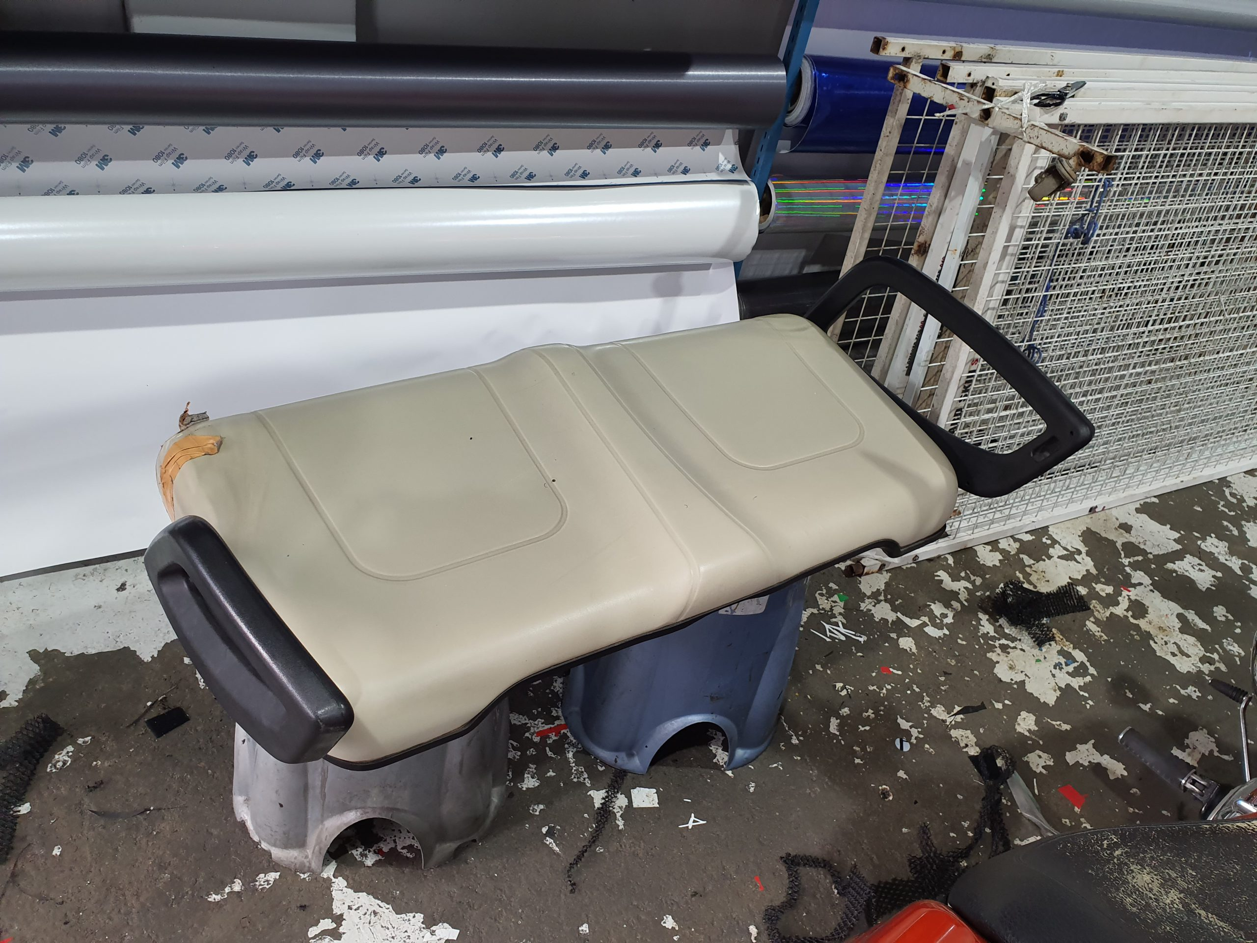 Golf Buggy / Golf Cart Seat Upholstery