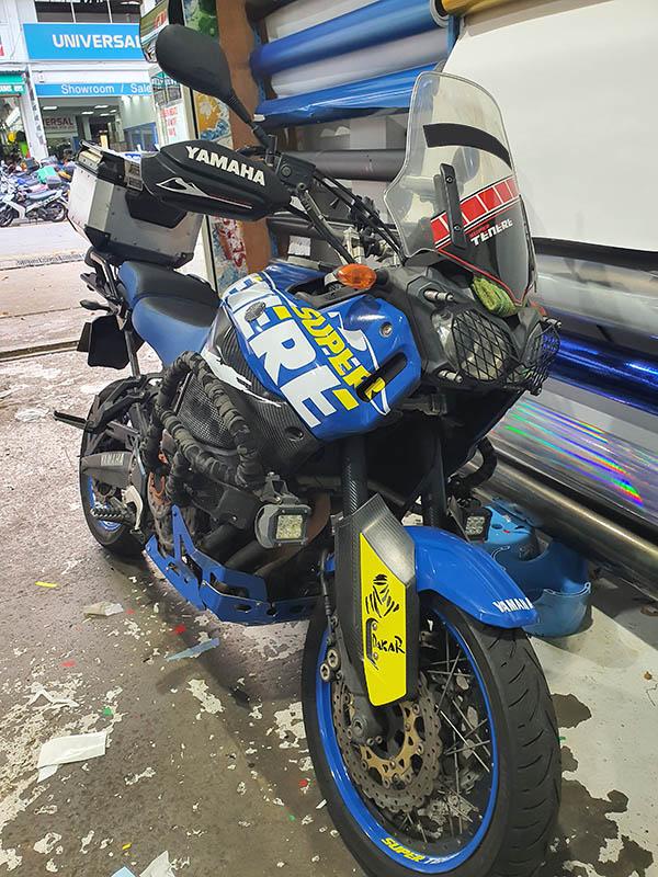 Yamaha Super Tenere Customised Decals