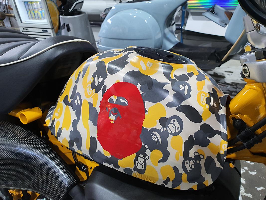 Honda Monkey Bape Camouflage