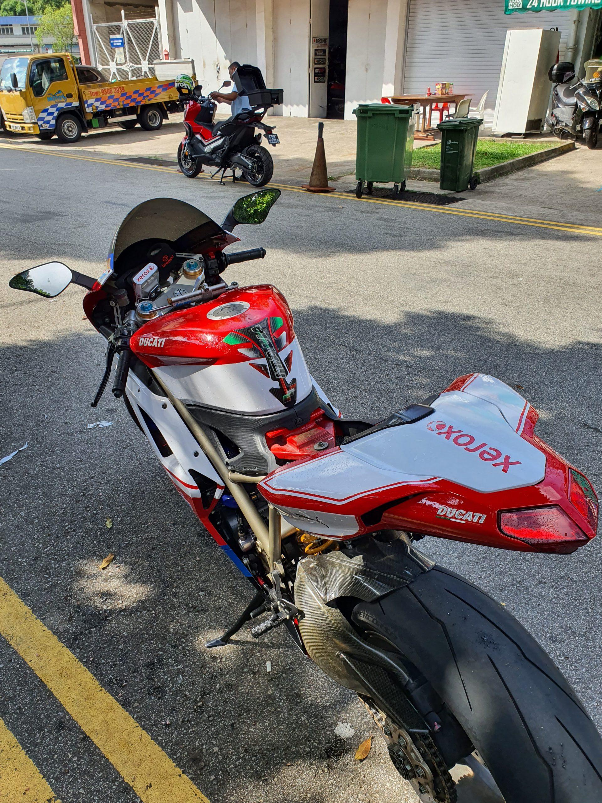 Ducati 1198S Xerox Design