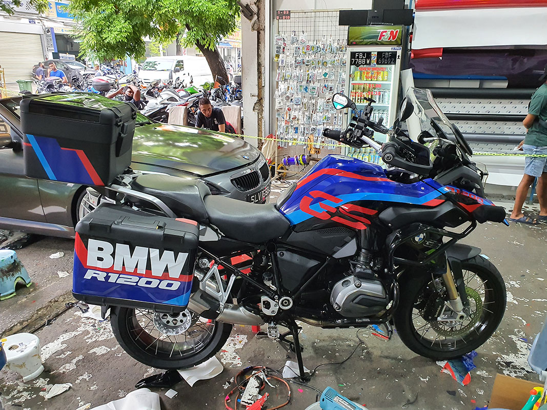BMW R1200GS JWG Design