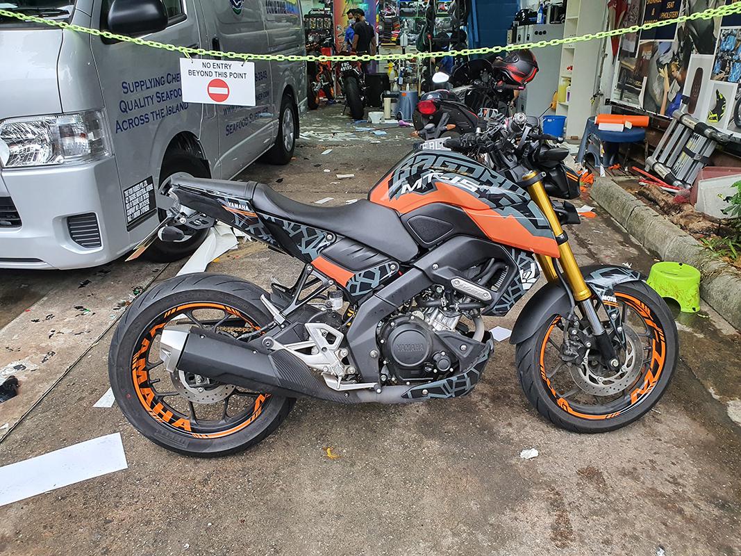 Yamaha MT-15 Orange