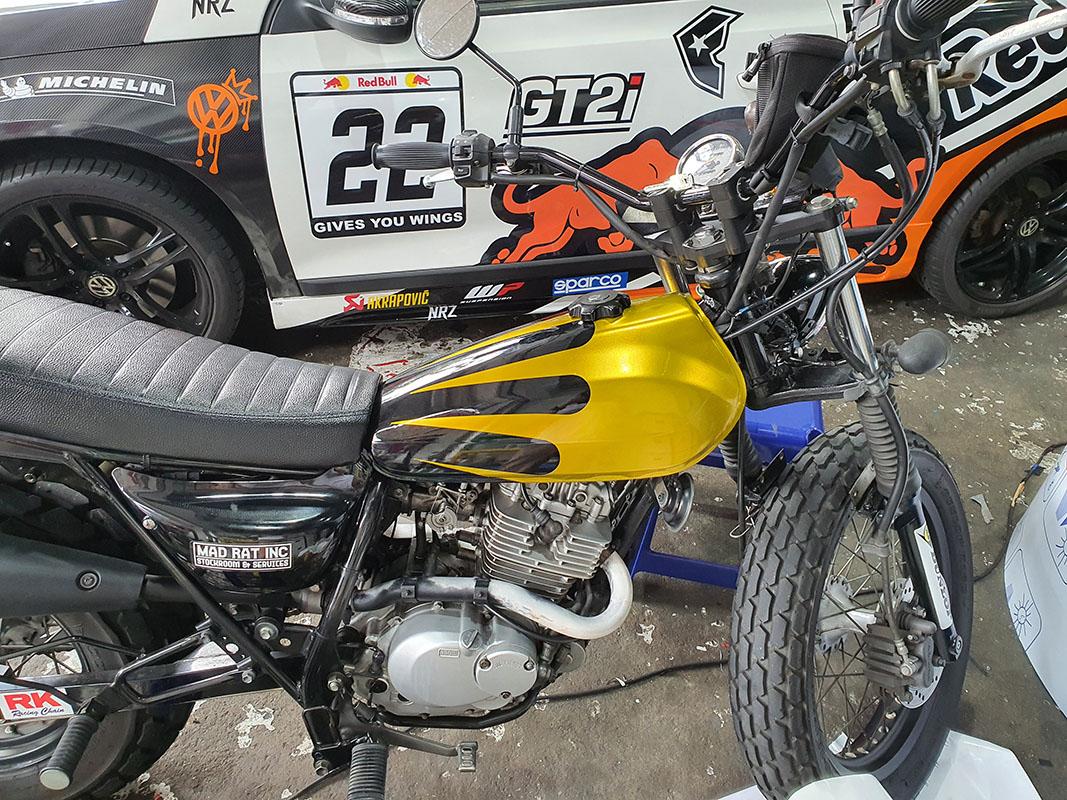 Suzuki VanVan 200 Gold