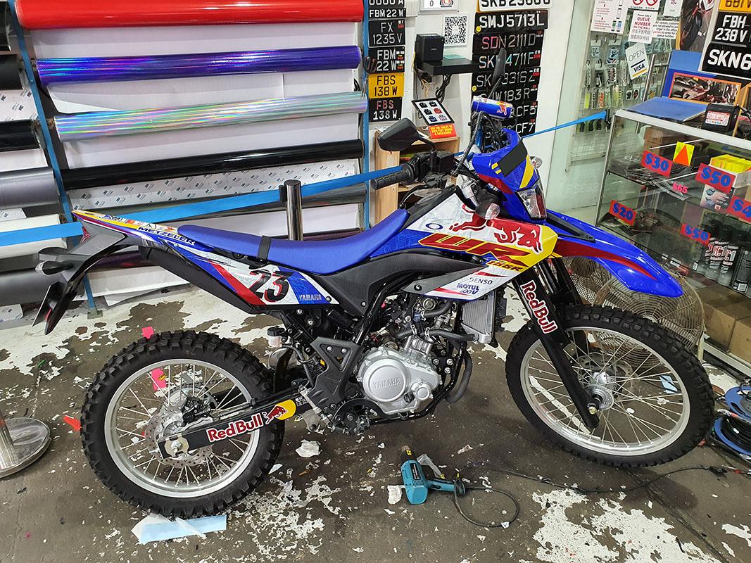 Yamaha WR155 Redbull Design