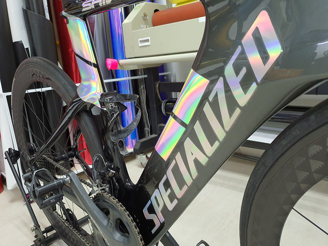 Specialized Holographic Bicycle Decals